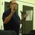 Chuck Fromm Speaking in Benedict Hall