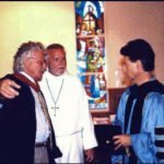 Bob Webber, Darrell Harris, Andy Hill, June 1999